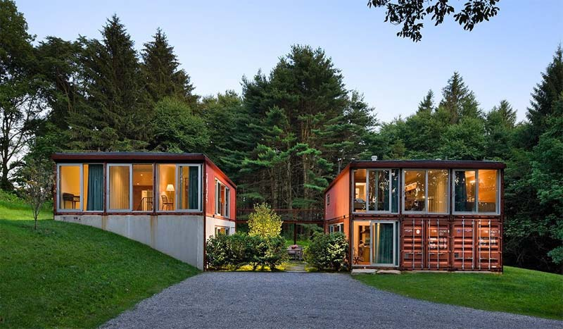 prefab containerwoning