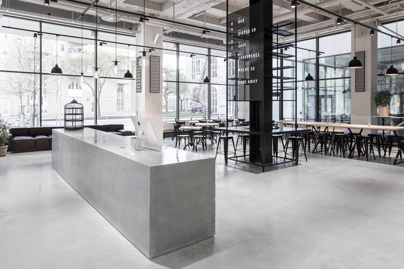 Restaurant Usine in Stockholm