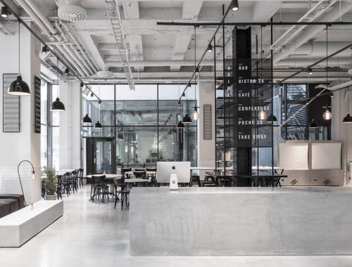 Restaurant Usine in Stockholm