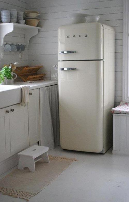 Verbazingwekkend Retro koelkast – Interieur inrichting CL-15