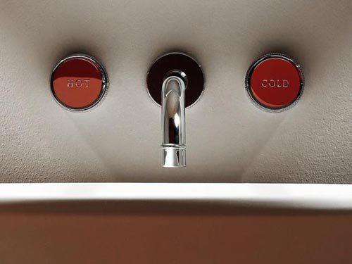 Retro kranen voor de badkamer