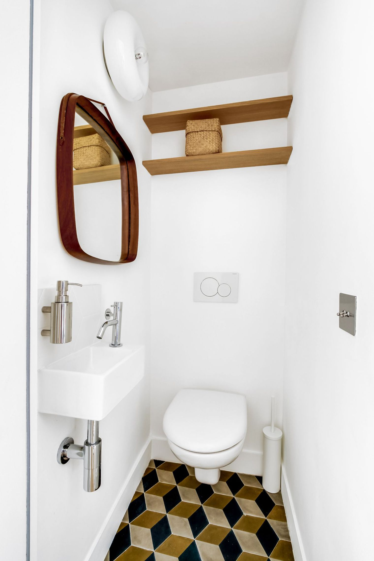 Retro vintage toilet interieur inrichting - Toilette retro ...