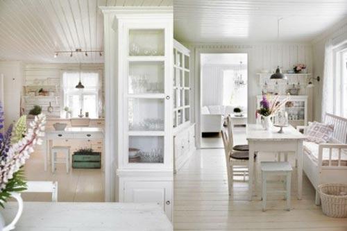 Landelijk Romantisch Interieur : Romantische keuken interieur inrichting
