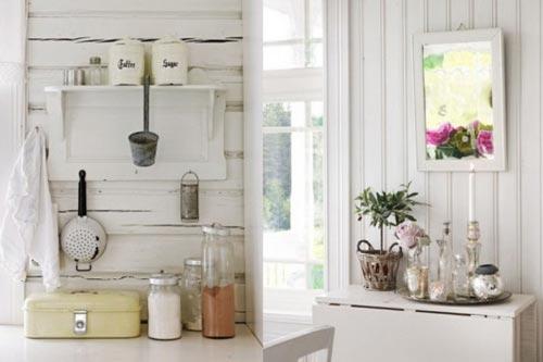 Gezellige Keuken Maken : Romantische keuken Interieur inrichting
