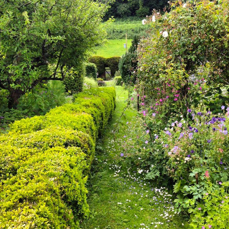 romantische tuin ideeen poort