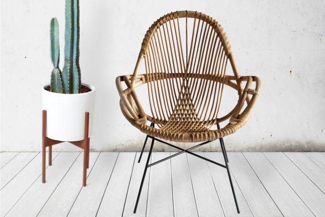 Rotan meubelen van wend interieur inrichting - Rotan stoel van de wereld ...