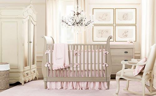 roze babykamer | interieur inrichting, Deco ideeën