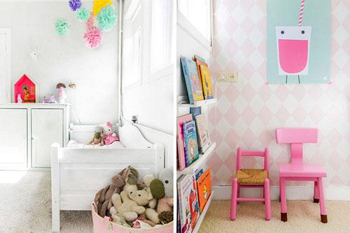Kinderkamer Stoere Meisjeskamer Inrichten : Roze meisjeskamer van ...