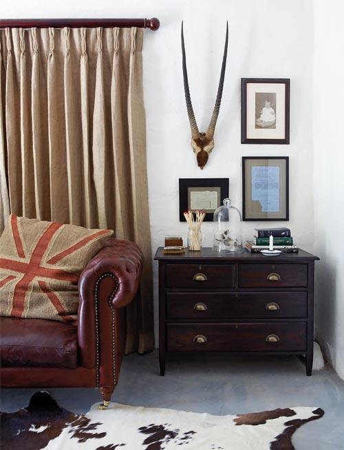 rustieke slaapkamer : Rustieke slaapkamer van boerderij Interieur ...