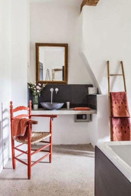 Rustieke slaapkamers in landelijk Frankrijk
