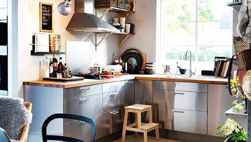 Rvs Ikea Keuken Interieur Inrichting
