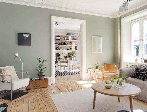 sage green interieur