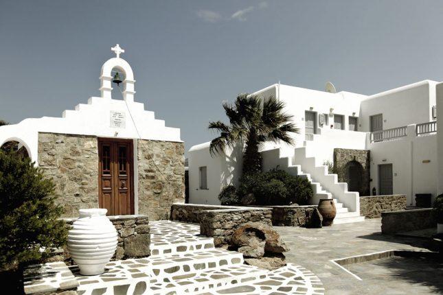 Kleurijke Marokkaanse Inrichting : Kortom, San Giorgio Mykonos is het ...