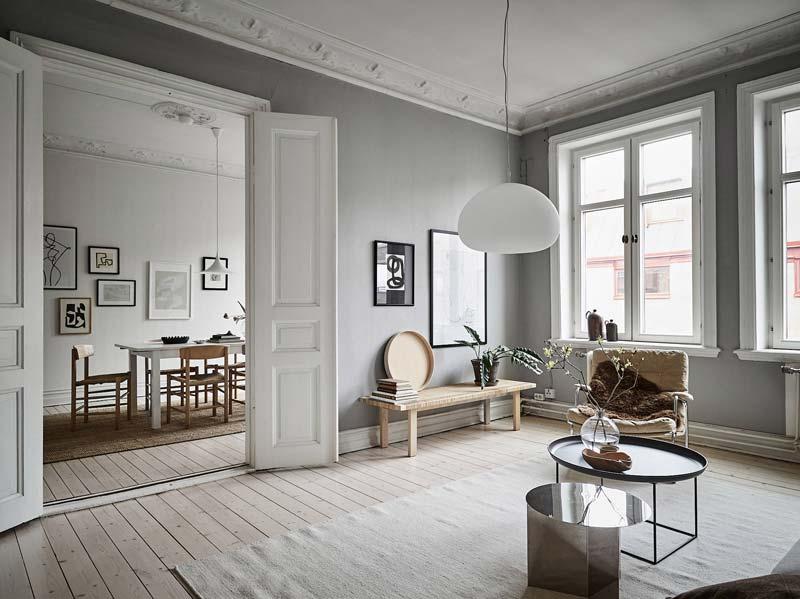 Scandinavisch grijs interieur-2