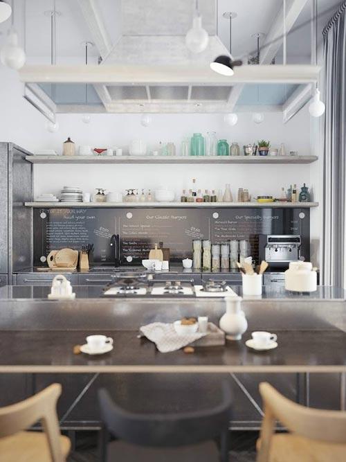 Keuken Scandinavische Stijl : De slaapkamer en de badkamer hebben eigenlijk dezelfde Scandinavische