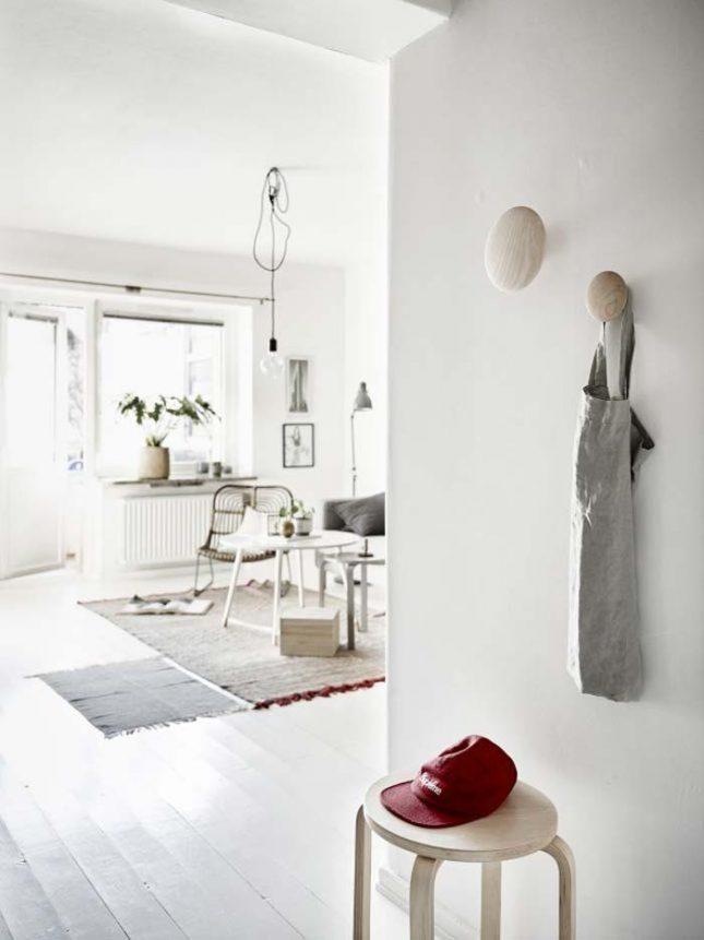 scandinavisch interieur lichte natuurlijke kleuren