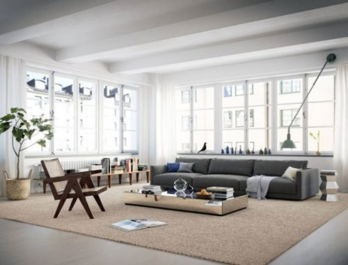 Scandinavisch loft appartement