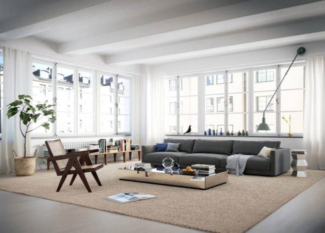 Scandinavisch loft appartement