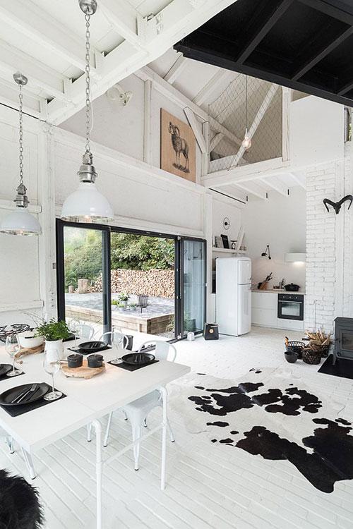 Scandinavisch witte keuken van oooox architecten interieur inrichting - Deco open keuken ...