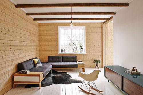 Scandinavische interieur in een appartement uit Australië