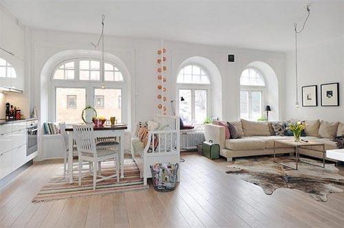woonkamer idee n van appartement gothenburg interieur inrichting. Black Bedroom Furniture Sets. Home Design Ideas