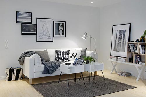 10 scandinavische woonkamers interieur inrichting for Afbeeldingen interieur