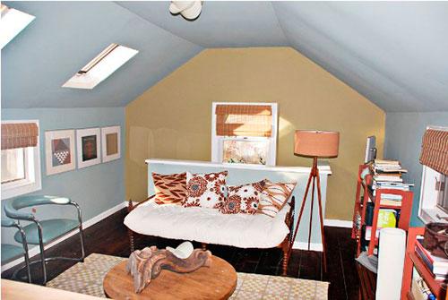 schilderijen in slaapkamer makeover