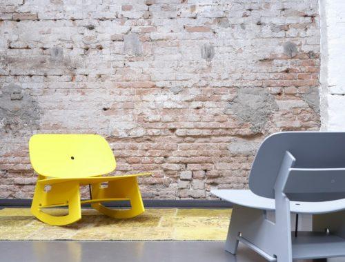 Eames stoel interieur inrichting for Schommelstoel eames replica