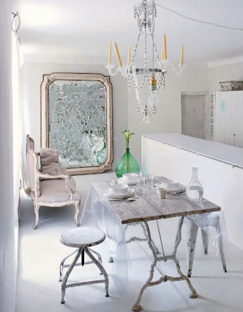 Serene witte woning van interieurontwerper Jacqueline Morabito