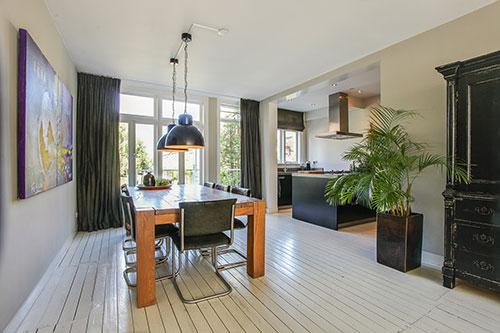 Sfeervolle dubbele benedenwoning in hillegersberg interieur inrichting - Tuin interieur design ...