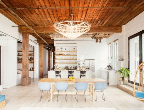 Sfeervolle loft in New York