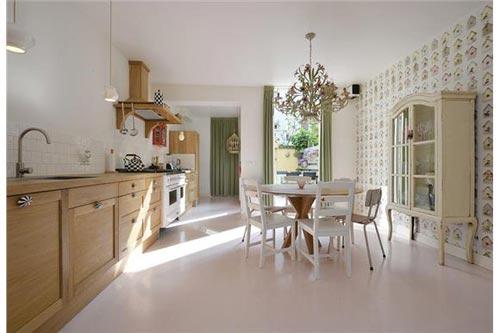 Glazen achterwand keuken interieur inrichting review ebooks - Vintage keukens ...