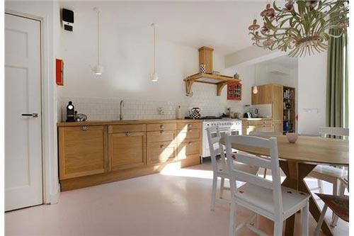 Sfeervolle vintage keuken interieur inrichting - Vintage keukens ...
