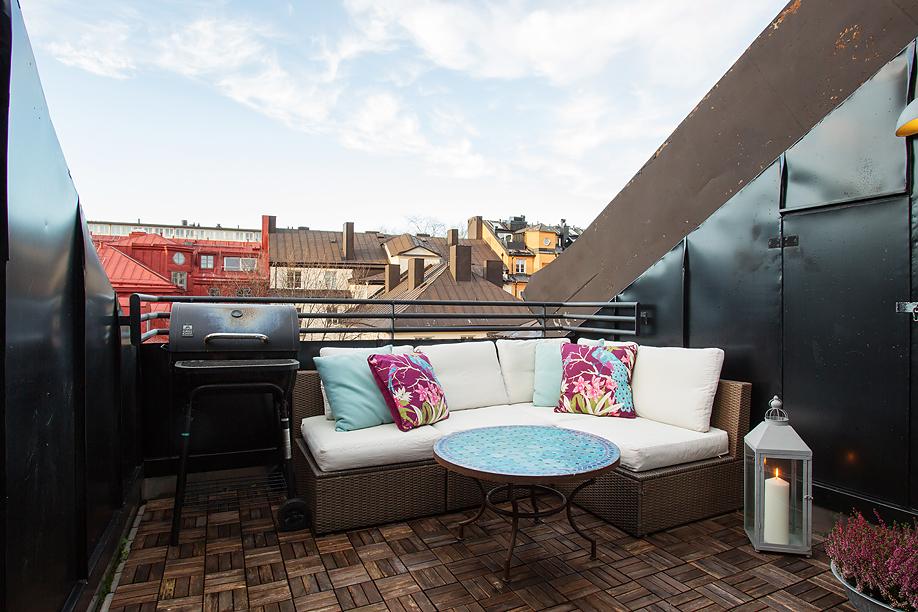 Simpele ideeën voor het balkon