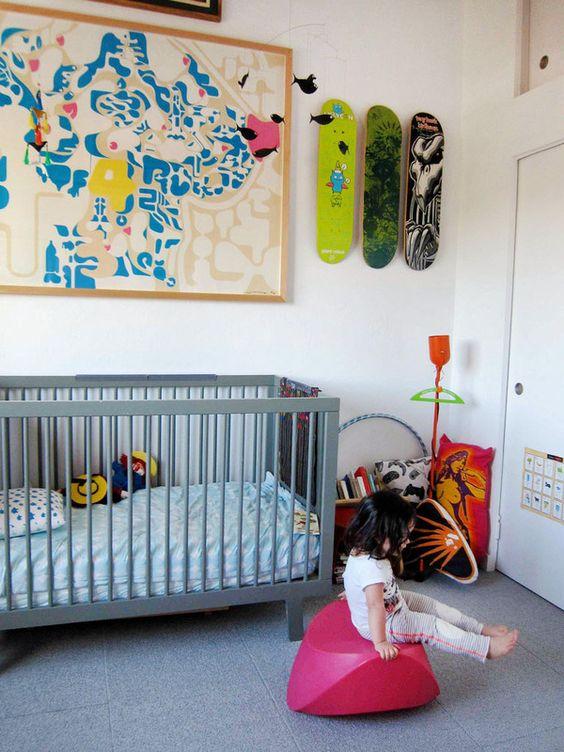 Genoeg Skatebord deck in huis! | Interieur inrichting &QE78