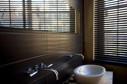 Slaapkamer met badkamer Amsterdamse loft
