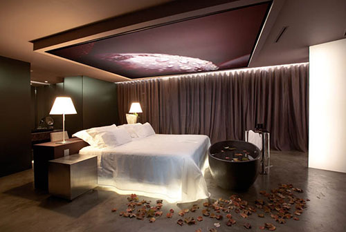 Achterwand Voor Slaapkamer : Slaapkamer verlichting ideeën interieur inrichting