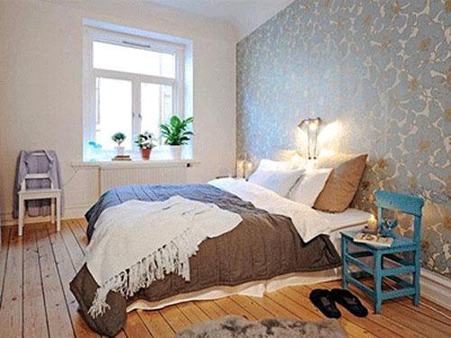 slaapkamer behang ideen