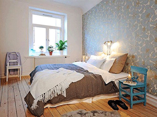 slaapkamer behang ideeën  interieur inrichting, Meubels Ideeën