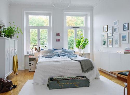 Slaapkamer decoratie fotolijstjes