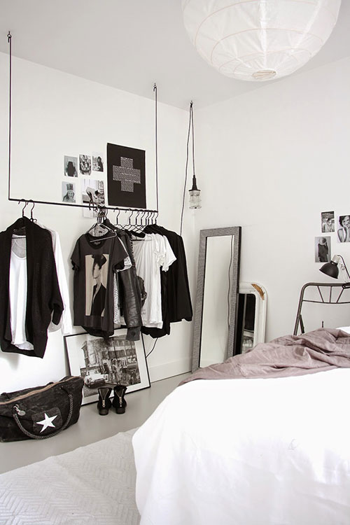 Slaapkamer slaapkamer ideeen zwart wit inspirerende foto 39 s en idee n van het interieur en - Foto van volwassen slaapkamer ...