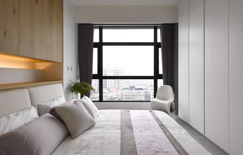 Design Slaapkamer Meubilair : Slaapkamer door ganna design met vaste kasten interieur inrichting