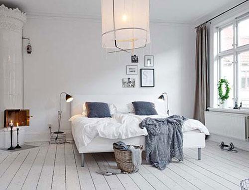 ... erg populair in de slaapkamer. Simpel, functioneel en erg stijlvol