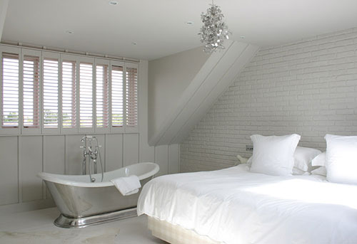 Hotel Met Bad In Slaapkamer : Slaapkamer ideeën met bad Interieur ...