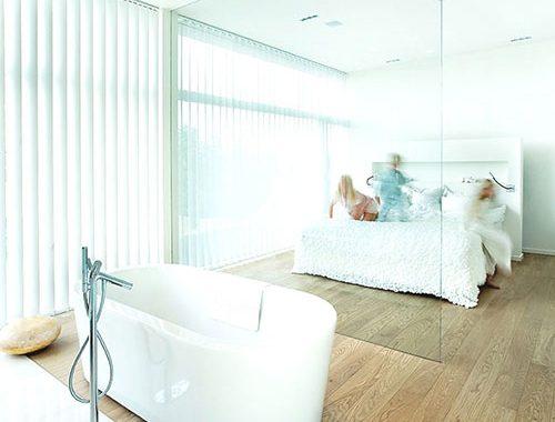 Slaapkamer ideeën met bad