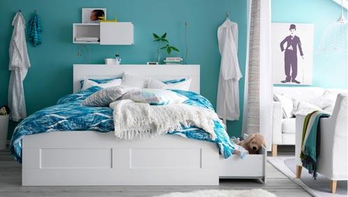 slaapkamer inrichten ikea | interieur inrichting, Deco ideeën