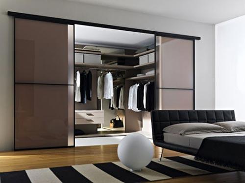 Slaapkamer inrichten met inloopkast  Interieur inrichting