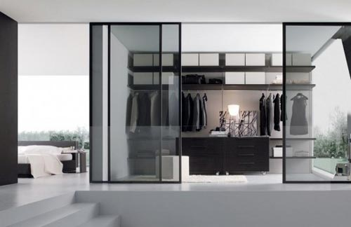 Luxe slaapkamer tips : Slaapkamer inrichten met inloopkast Interieur ...