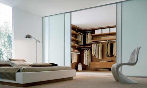 slaapkamer inrichten met inloopkast | interieur inrichting, Deco ideeën