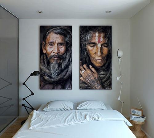 Slaapkamer inrichten met kunst